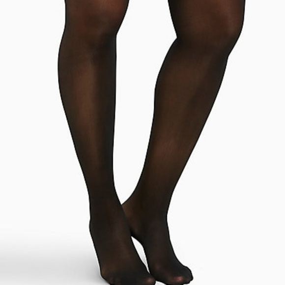 f4340919cf711 Torrid Black Sheer Tights